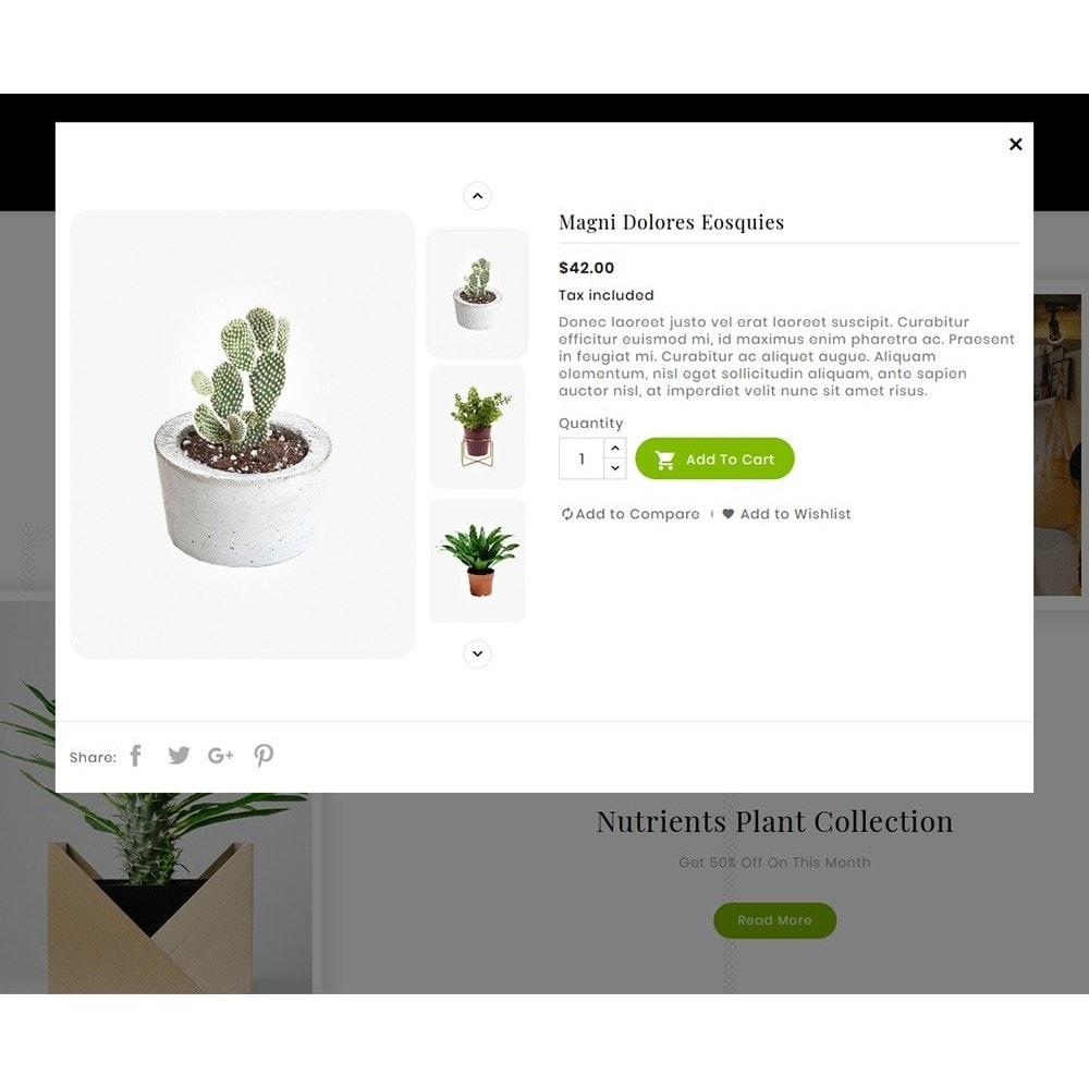 theme - Дом и сад - Nursery Plant & Green Gallery - 8