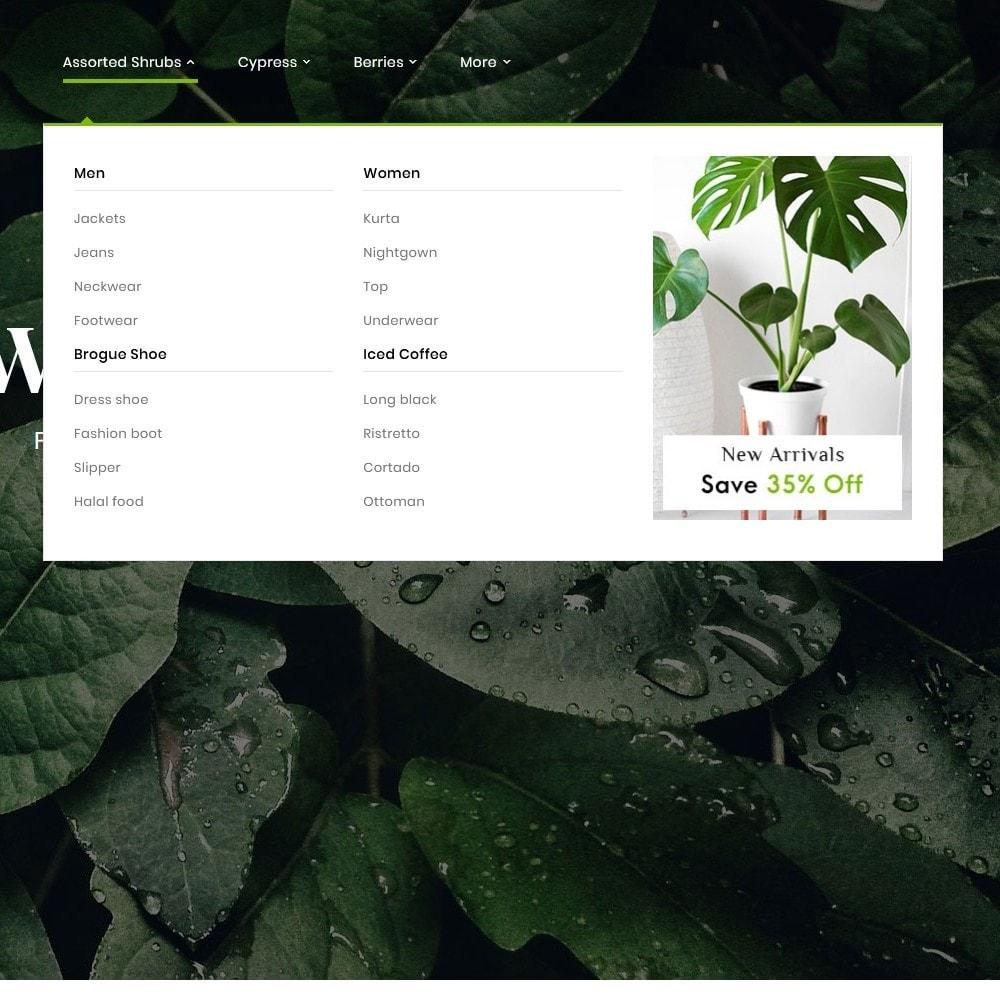 theme - Дом и сад - Nursery Plant & Green Gallery - 9