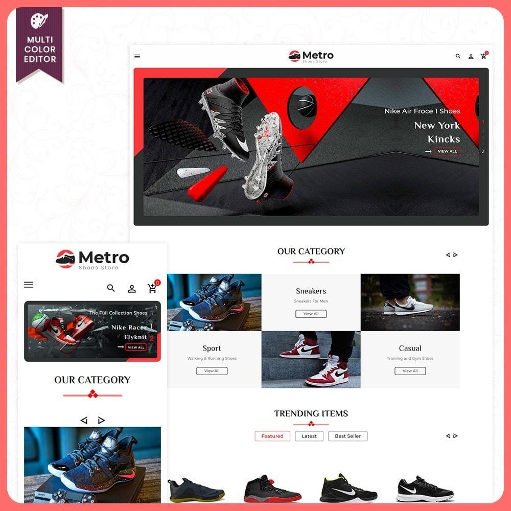 theme - Moda & Calçados - Metro Best Shoes Mega Store - 1