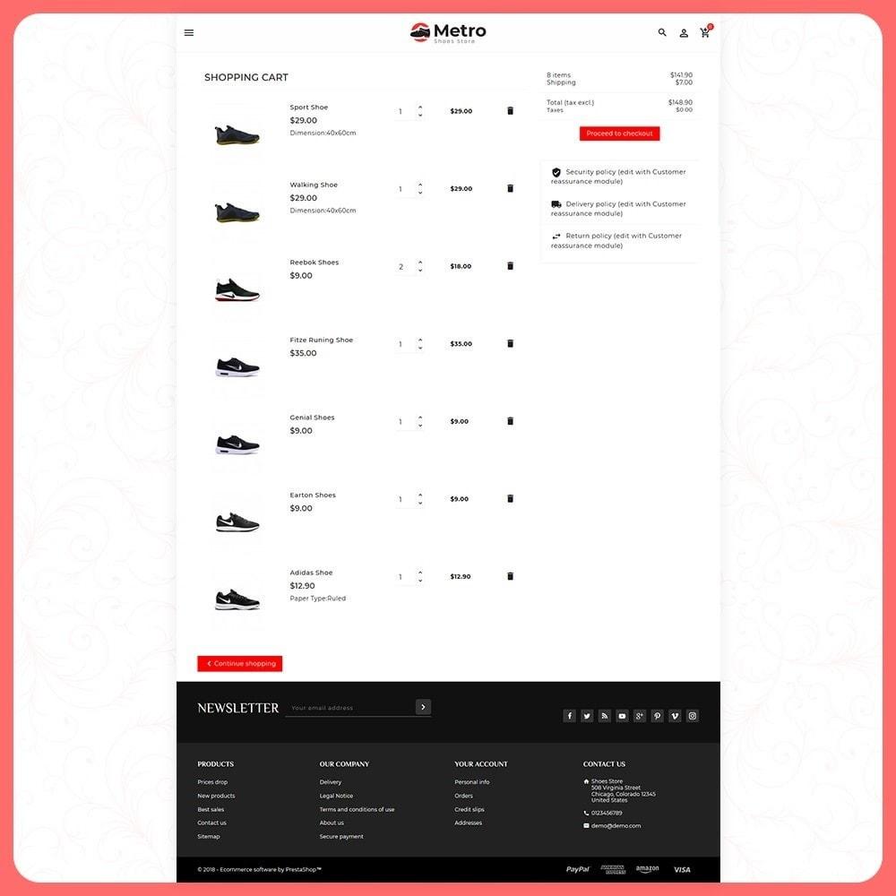 theme - Moda & Calçados - Metro Best Shoes Mega Store - 5
