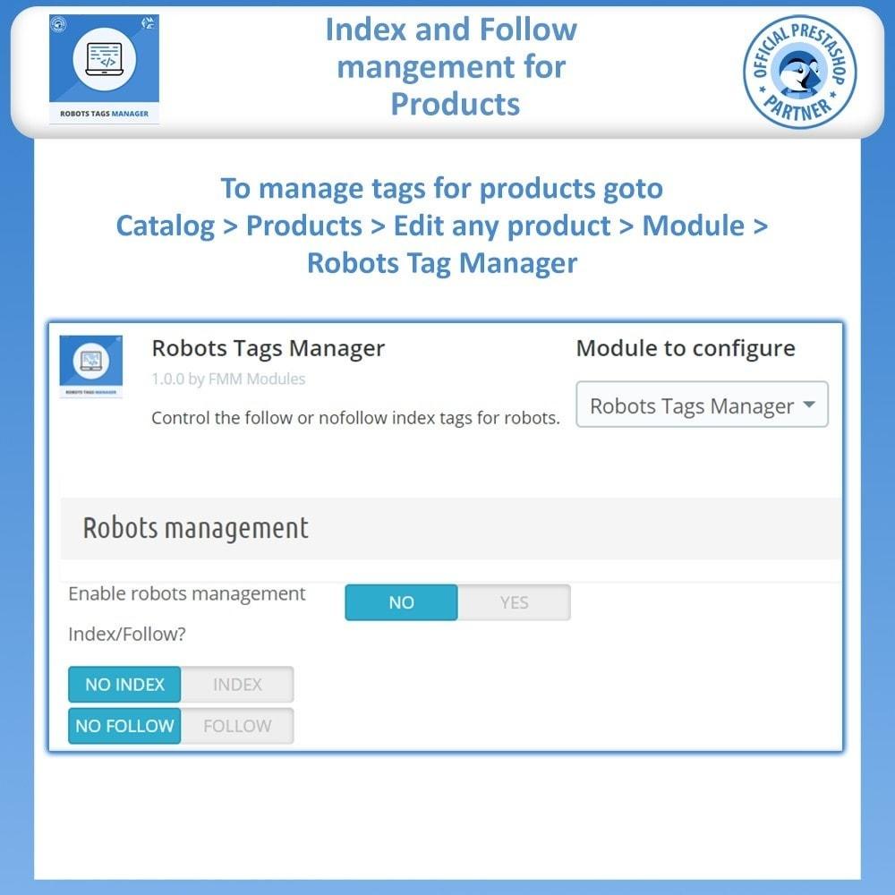 module - SEO - Meta Robot Tags - NoFollow NoIndex Manager - 4