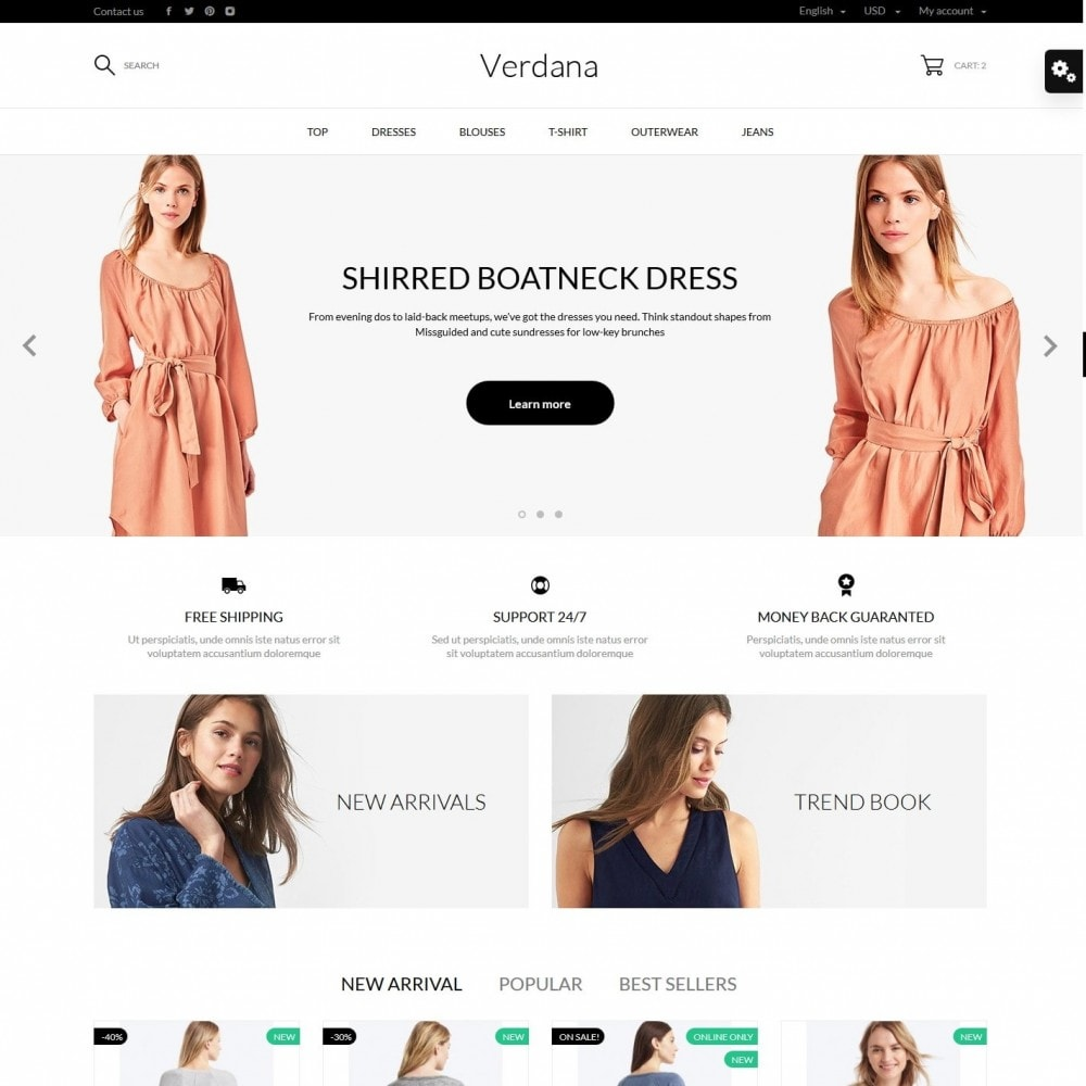 theme - Fashion & Shoes - Verdana Fashion Store - 9