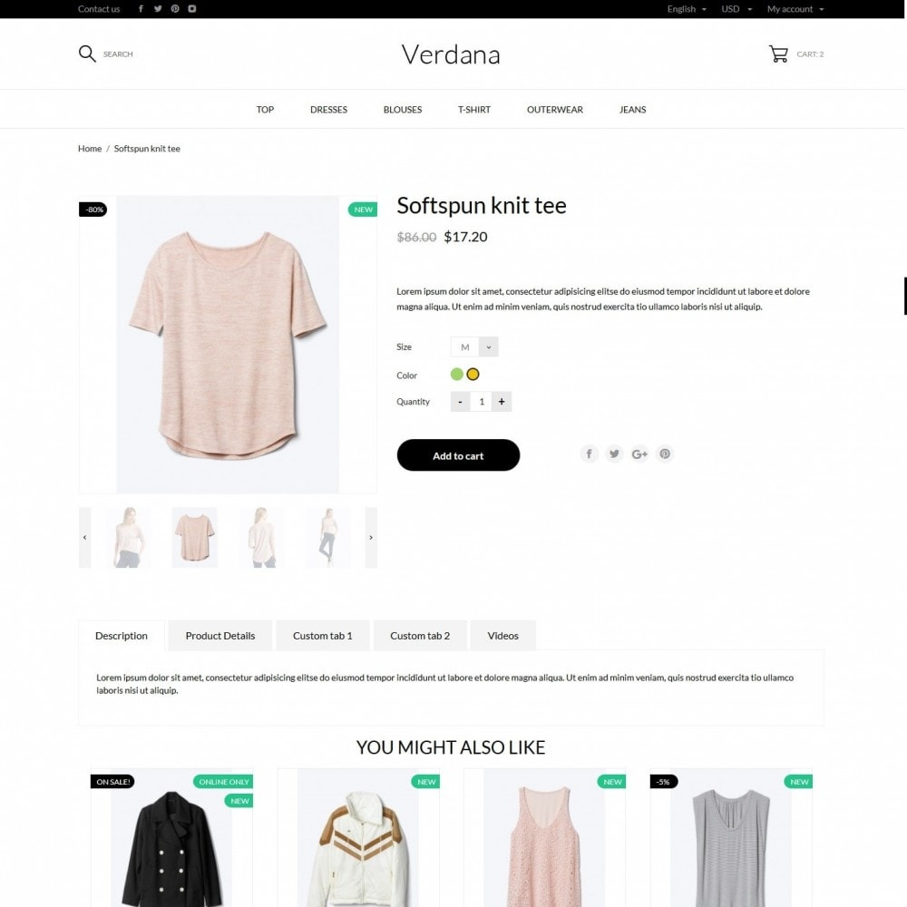 theme - Fashion & Shoes - Verdana Fashion Store - 11