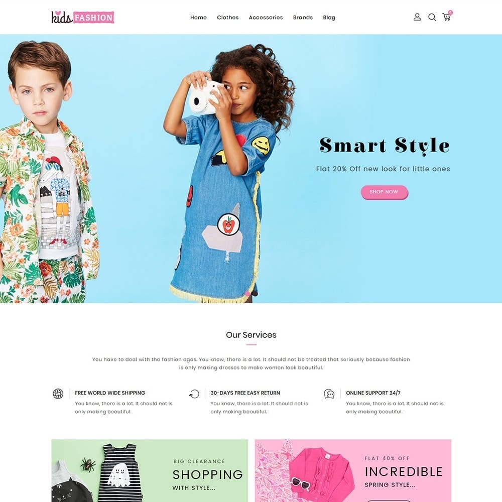 theme - Mode & Schoenen - Kids Fashion Store - 2