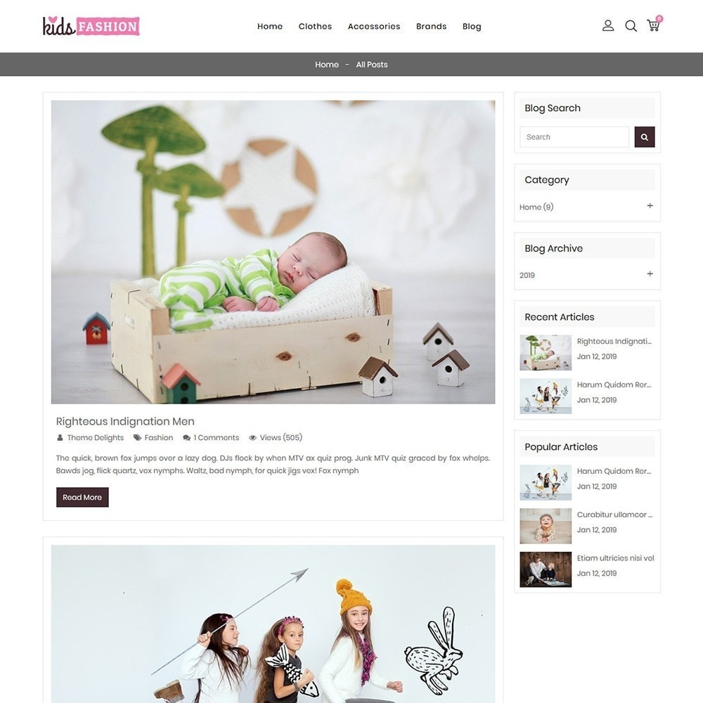 theme - Moda & Calçados - Kids Fashion Store - 8