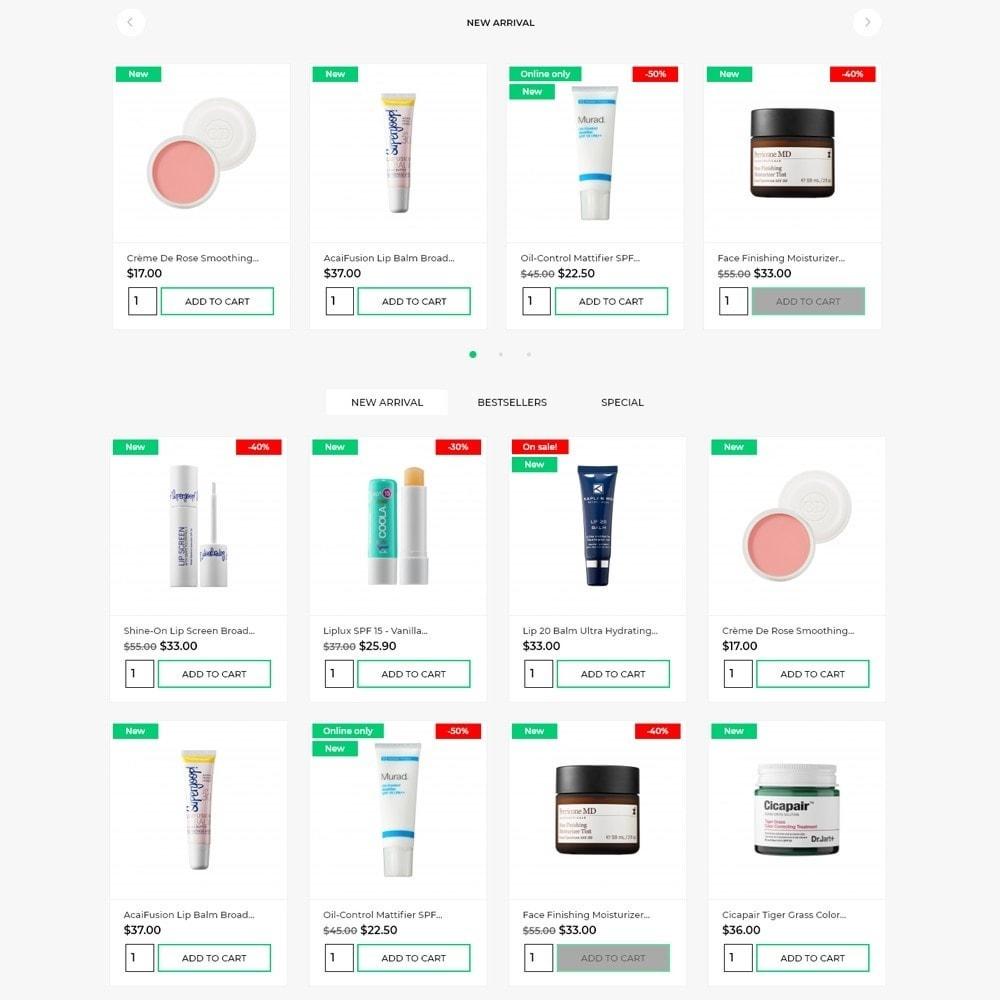 theme - Health & Beauty - Elizabeth Cosmetics - 3