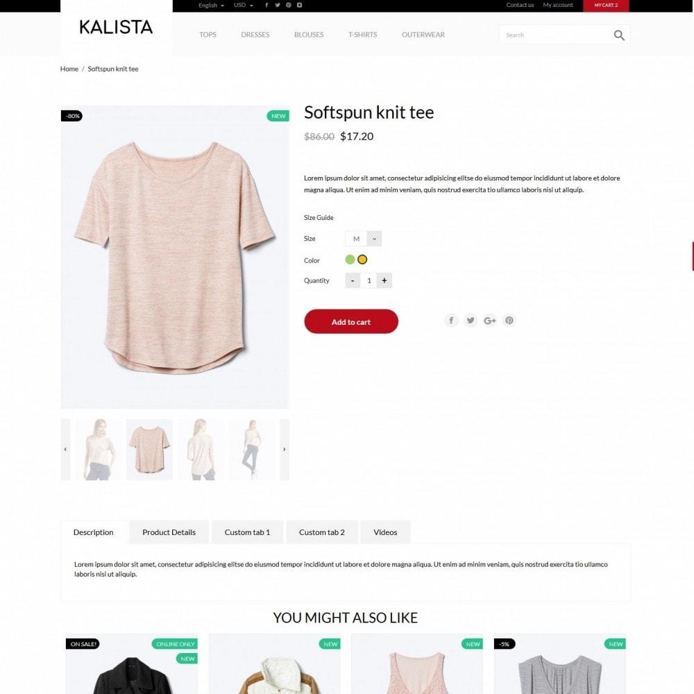theme - Fashion & Shoes - Kalista Fashion Store - 6