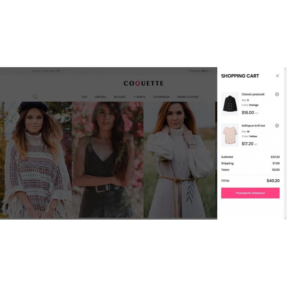 theme - Fashion & Shoes - Coquette Fashion Store - 7