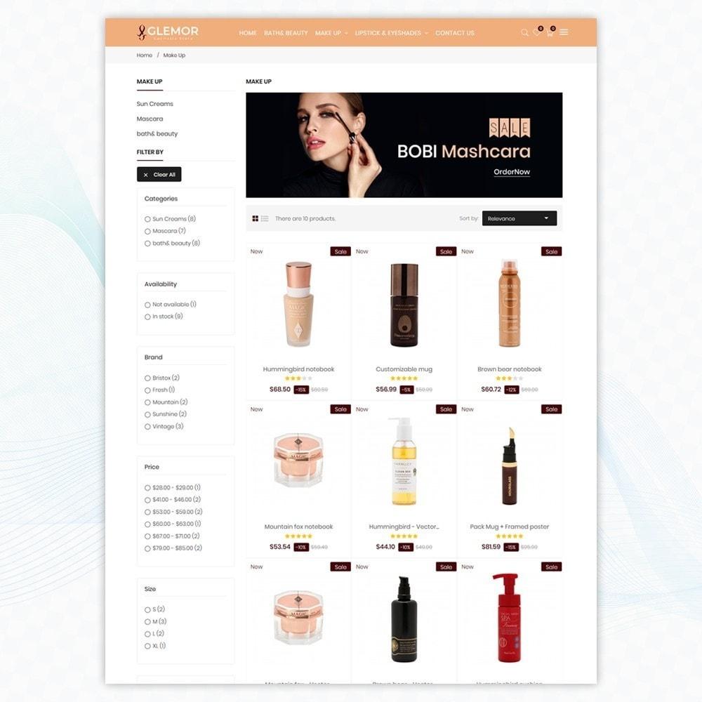 theme - Santé & Beauté - Glemor Cosmetic Store - 3