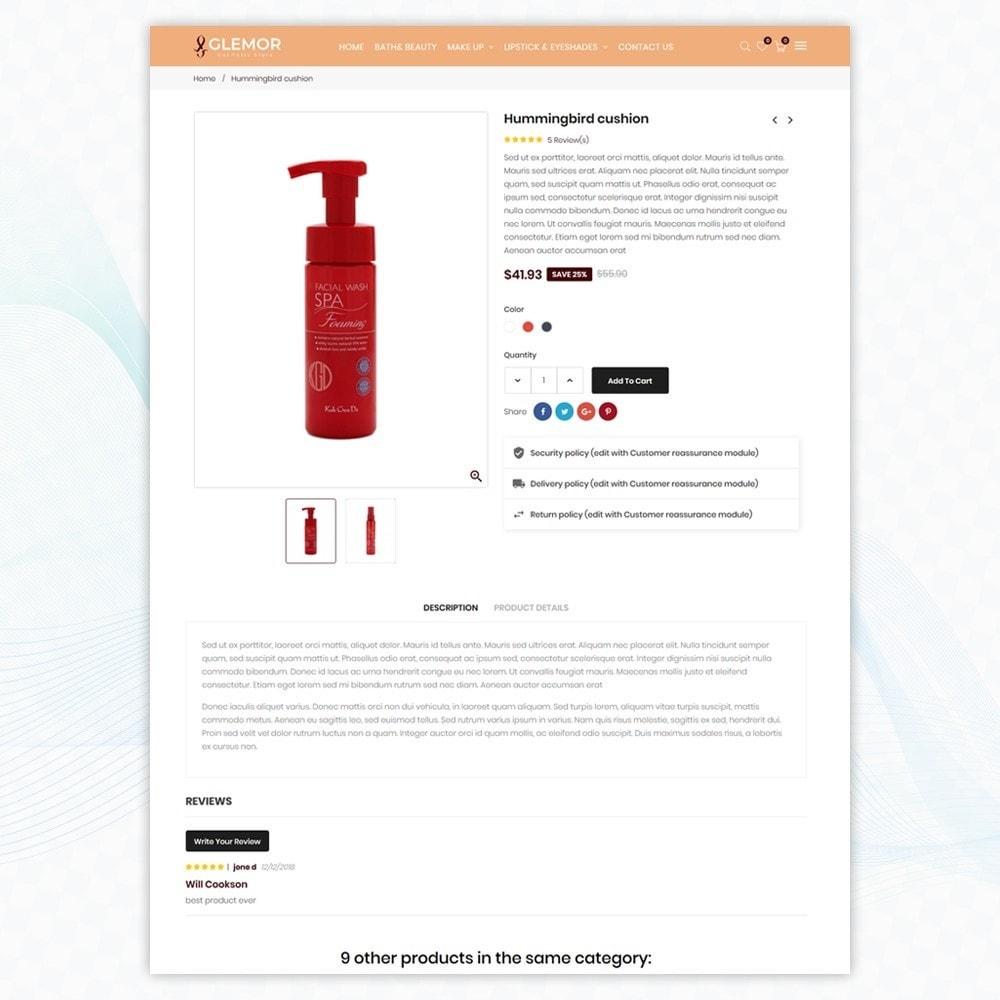 theme - Santé & Beauté - Glemor Cosmetic Store - 5