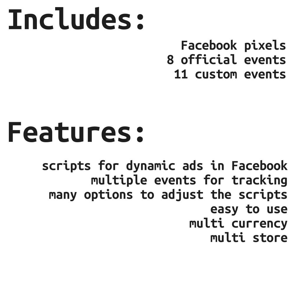 module - Produtos nas Facebook & Redes Sociais - Social Network Pixel - for dynamic ads - 2