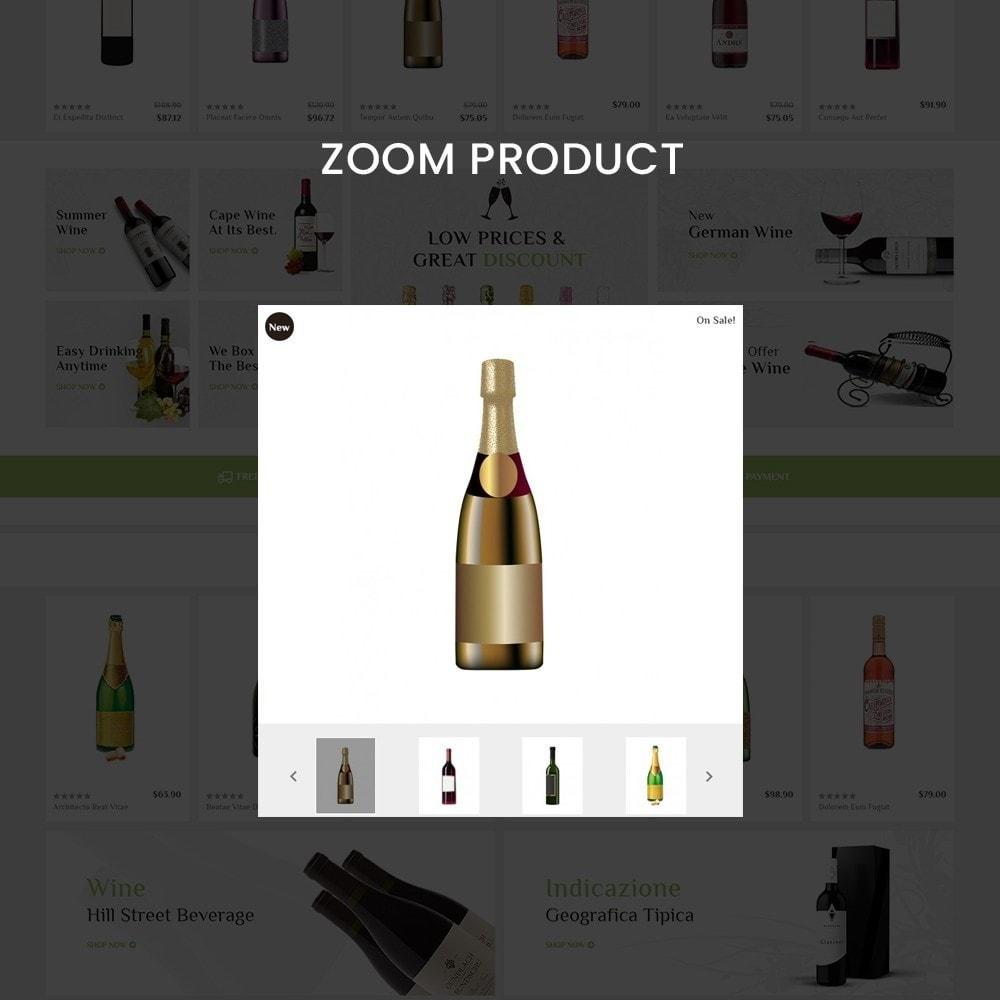 theme - Drink & Tobacco - Bigbazzar wine– Multipurpose Mega Wine Store - 9