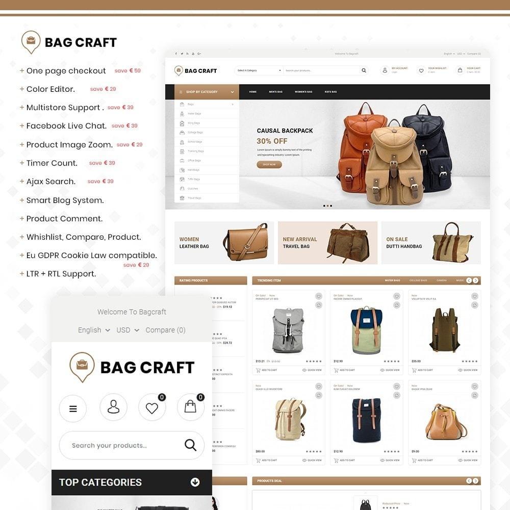 theme - Fashion & Shoes - Bags Craft - Multiporpose Mega Bag Store - 1