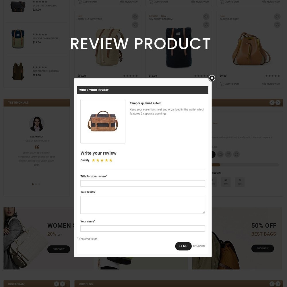 theme - Fashion & Shoes - Bags Craft - Multiporpose Mega Bag Store - 7