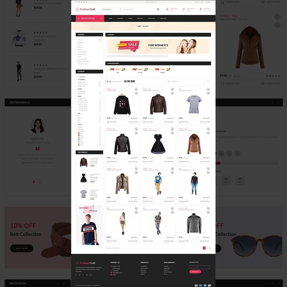 theme - Fashion & Shoes - Fashion Craft - Multipurpose Mega Fashion Store - 12