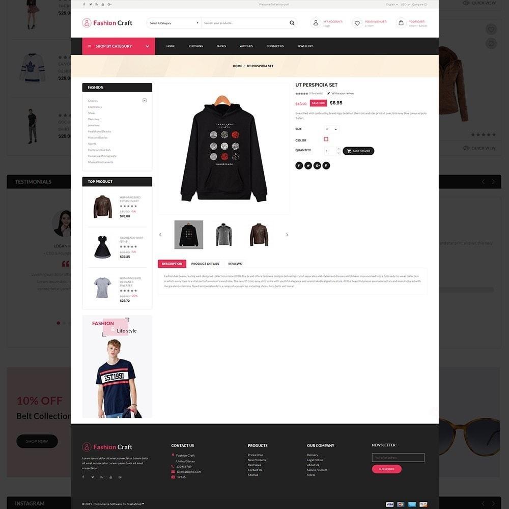 theme - Fashion & Shoes - Fashion Craft - Multipurpose Mega Fashion Store - 14