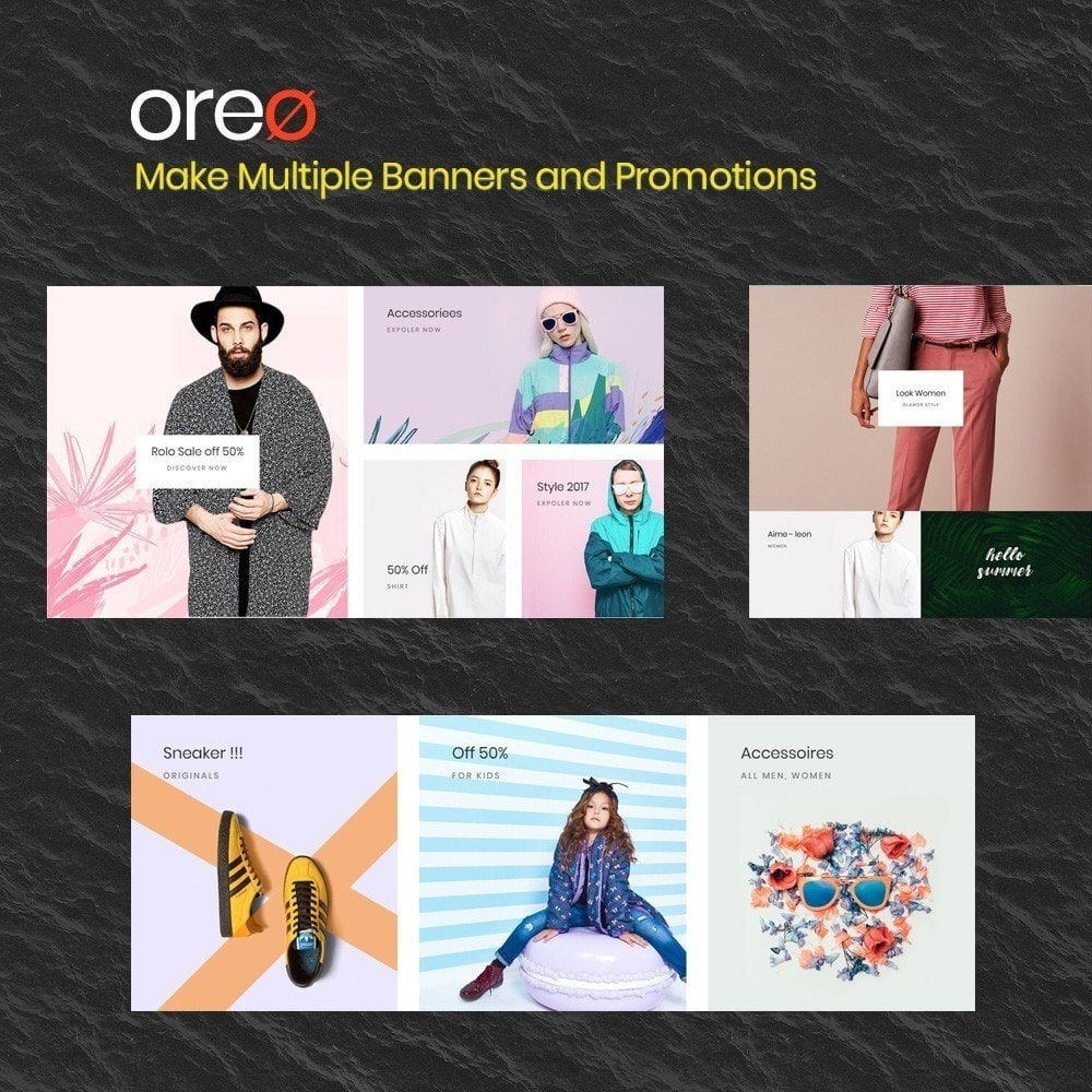 theme - Fashion & Shoes - Oreo Fashion & clothing shose trend 2018 - 9