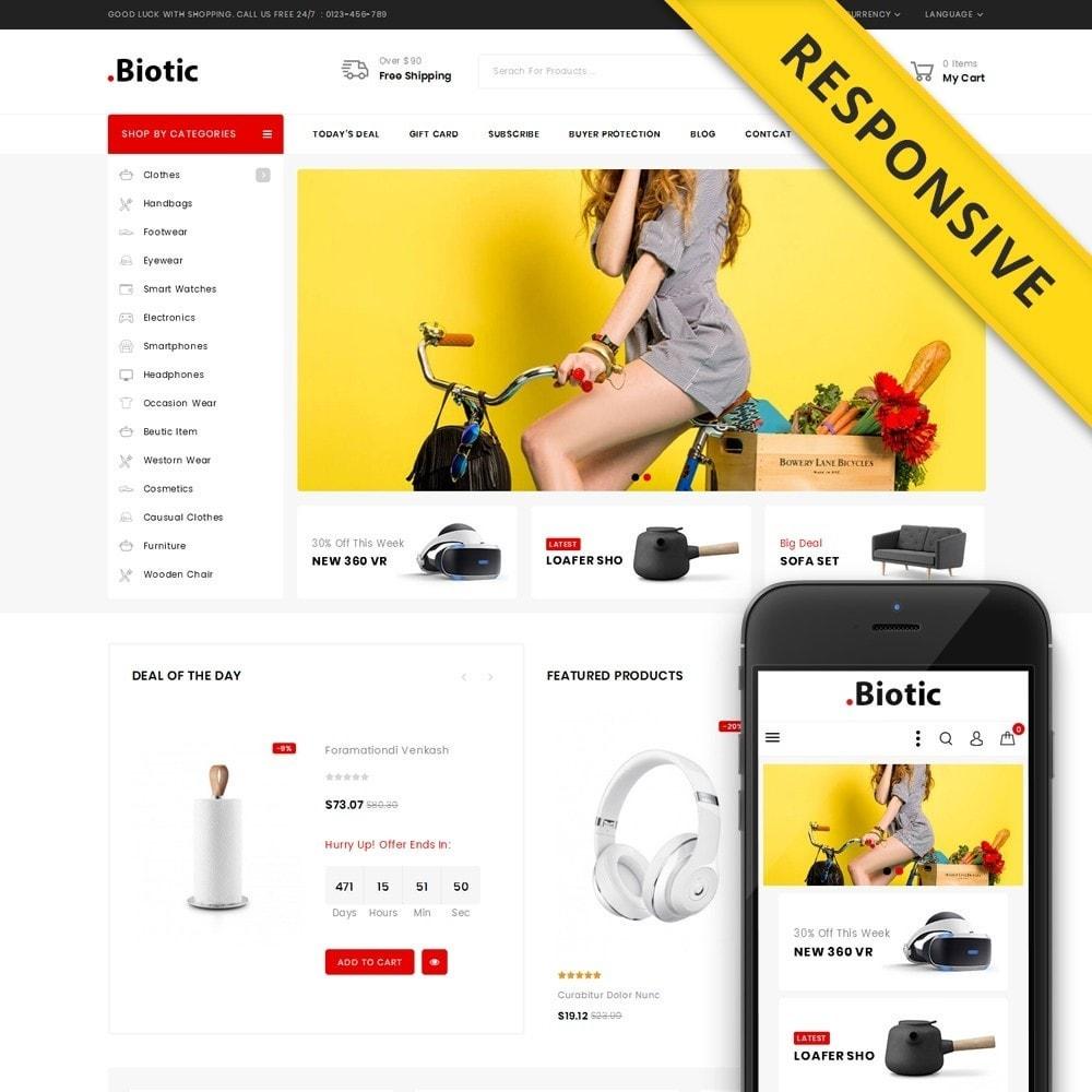 theme - Мода и обувь - Biotic - Multi Purpose Store - 1