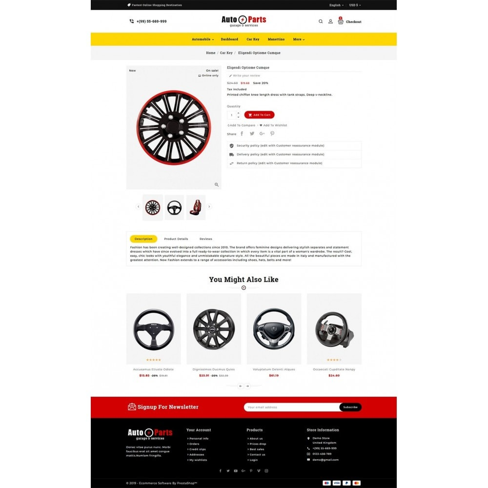 theme - Automotive & Cars - Auto Parts - 5