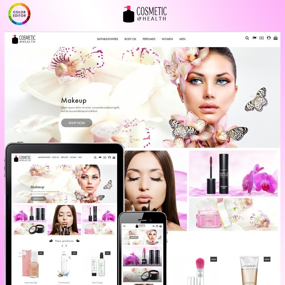 theme - Health & Beauty - Cosmetic & Healthy - 1
