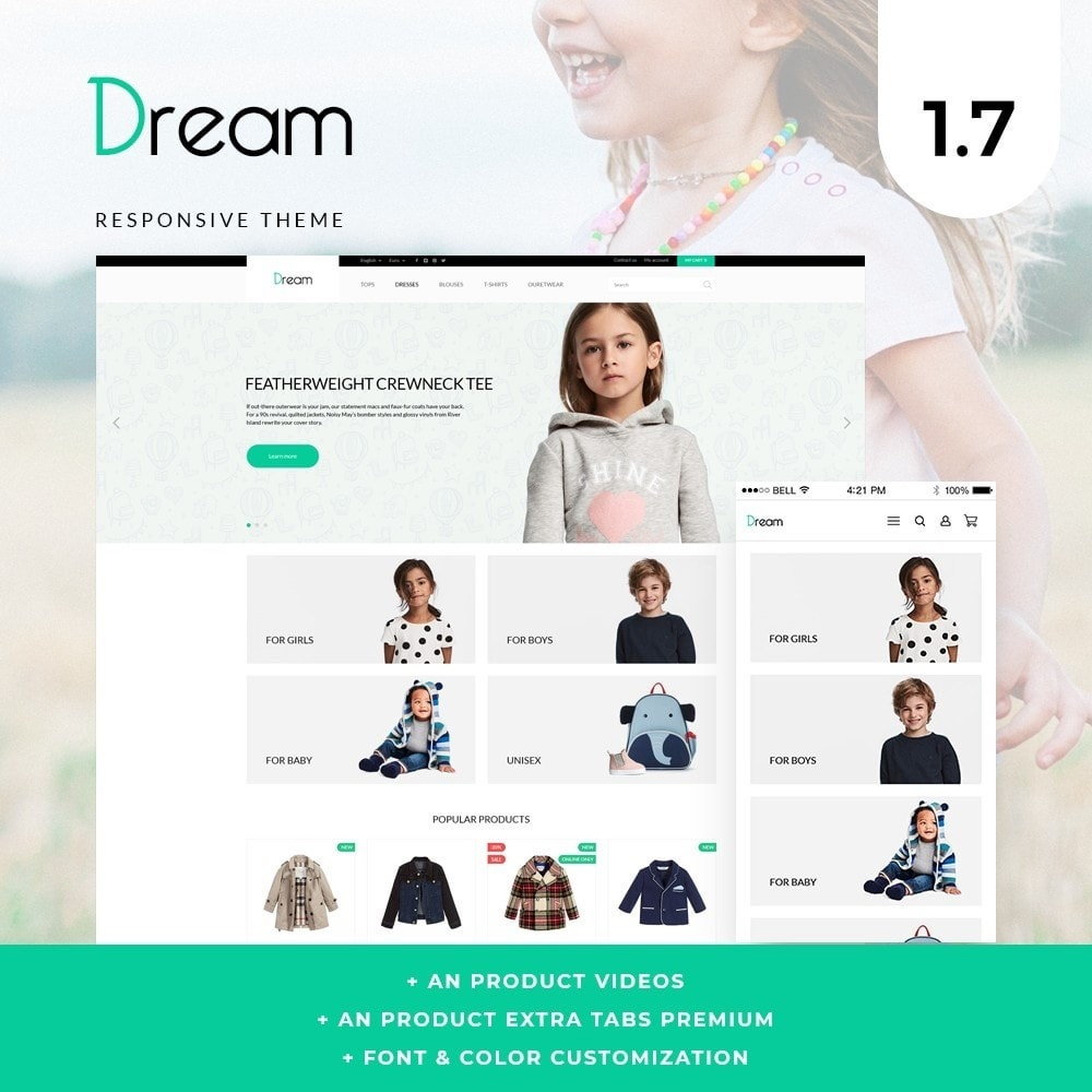 theme - Kids & Toys - Dream - 1