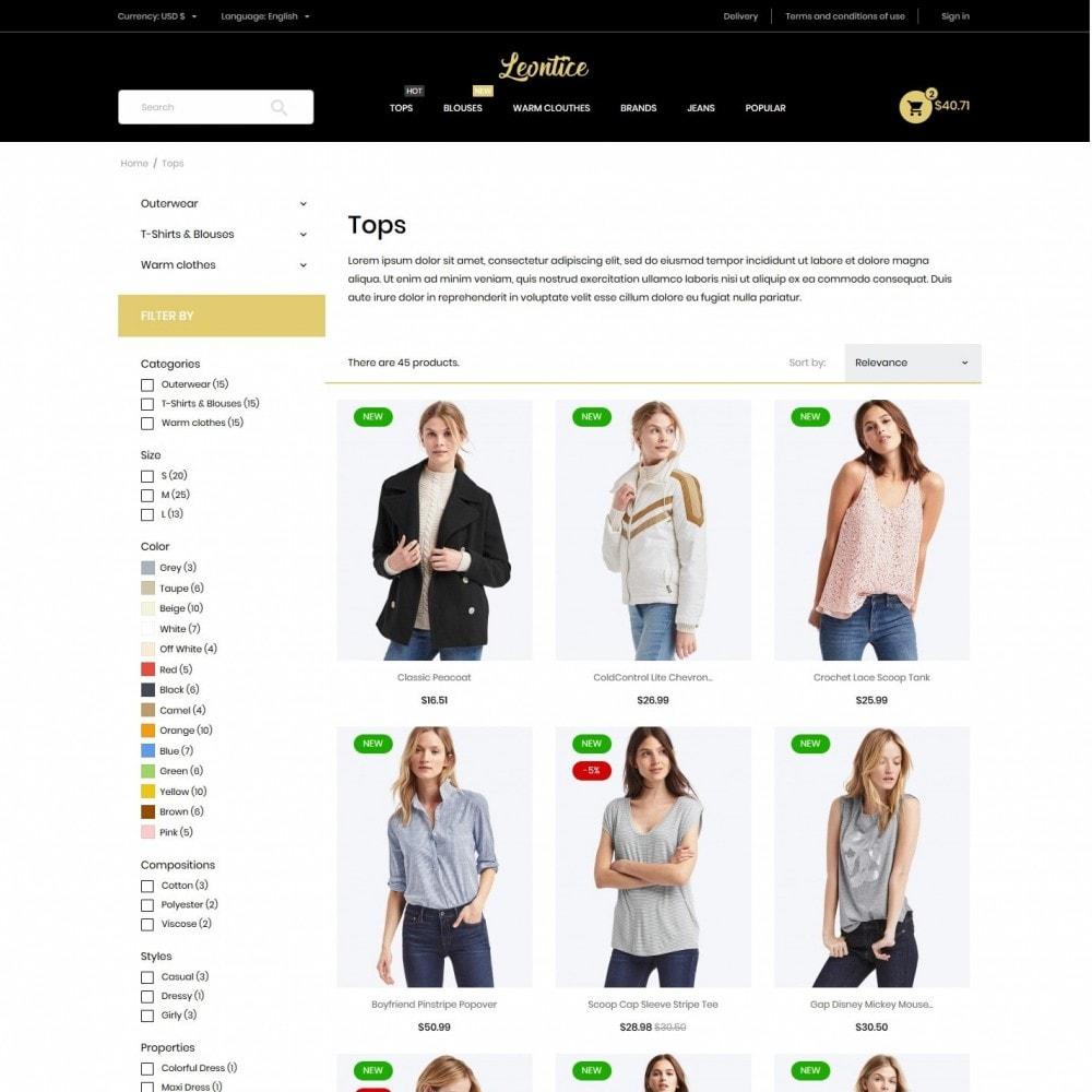 theme - Fashion & Shoes - Leontice Fashion Store - 5