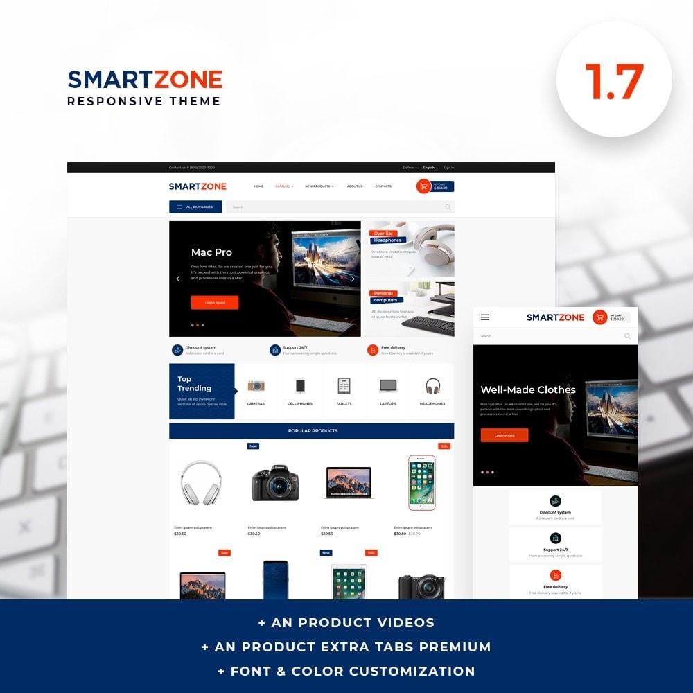 theme - Electronics & Computers - Smartzone - High-tech Shop - 1