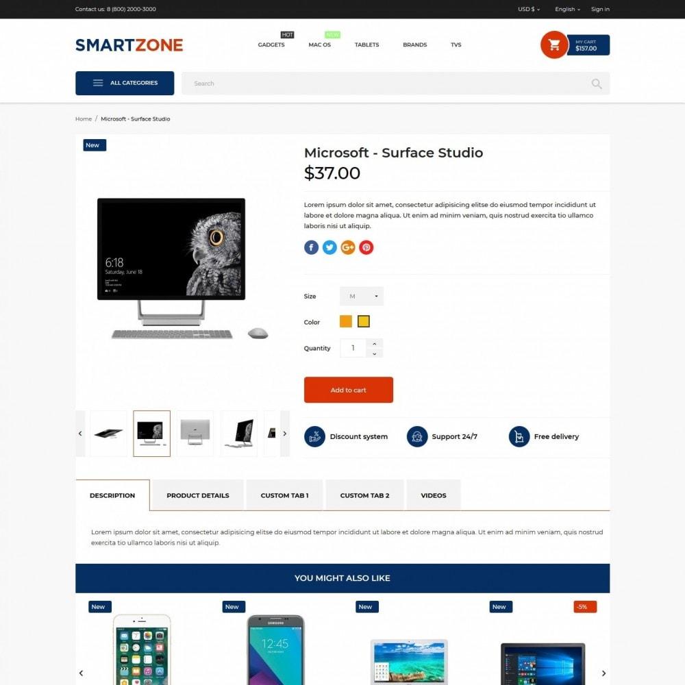theme - Electronics & Computers - Smartzone - High-tech Shop - 6
