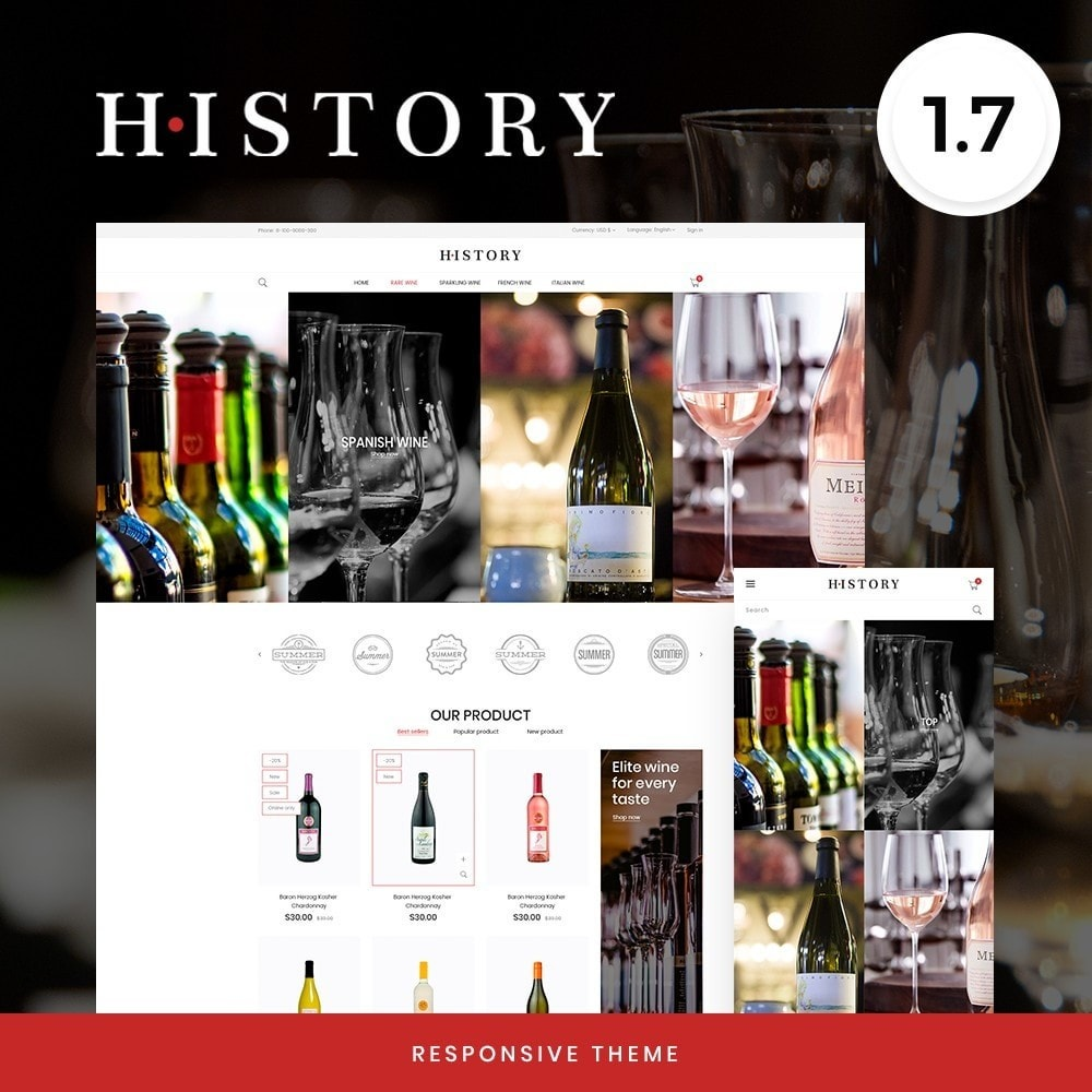theme - Drink & Tobacco - History Shop - 1