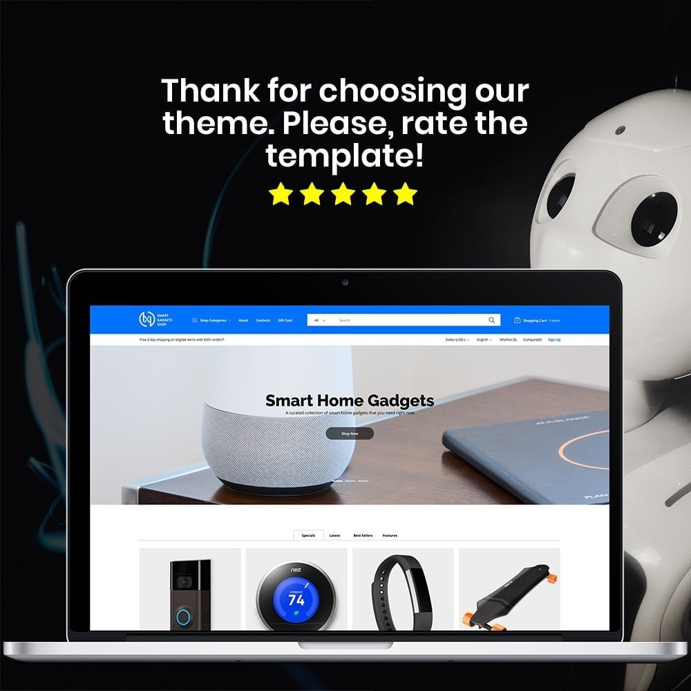 theme - Elettronica & High Tech - IXI - Smart Gadgets Store - 1