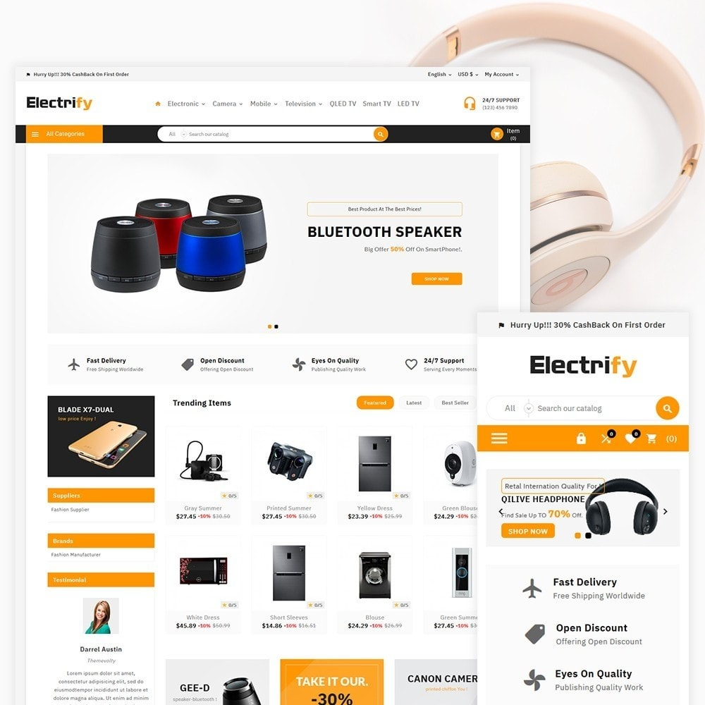 theme - Electronics & Computers - Electrify - Electronic Mega Mart - 2