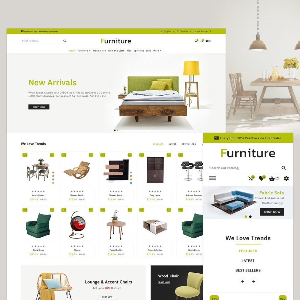theme - Casa & Giardino - FurniFurniture Multi Store - 1