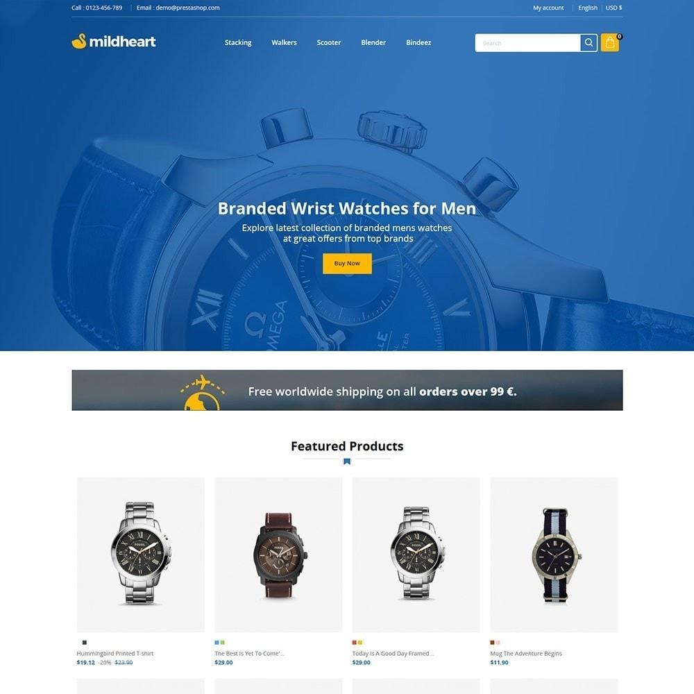 theme - Fashion & Shoes - Mildheart Watch  - Luxury Store - 2