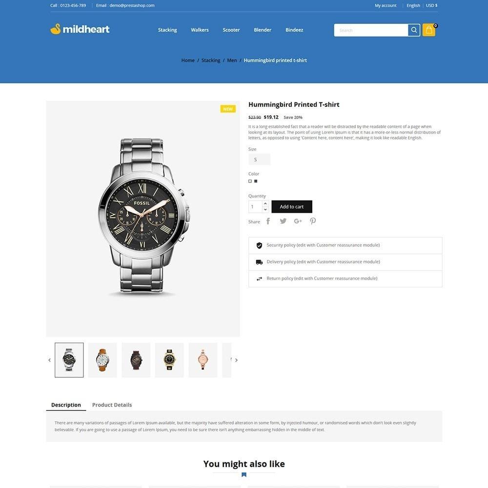 theme - Fashion & Shoes - Mildheart Watch  - Luxury Store - 5