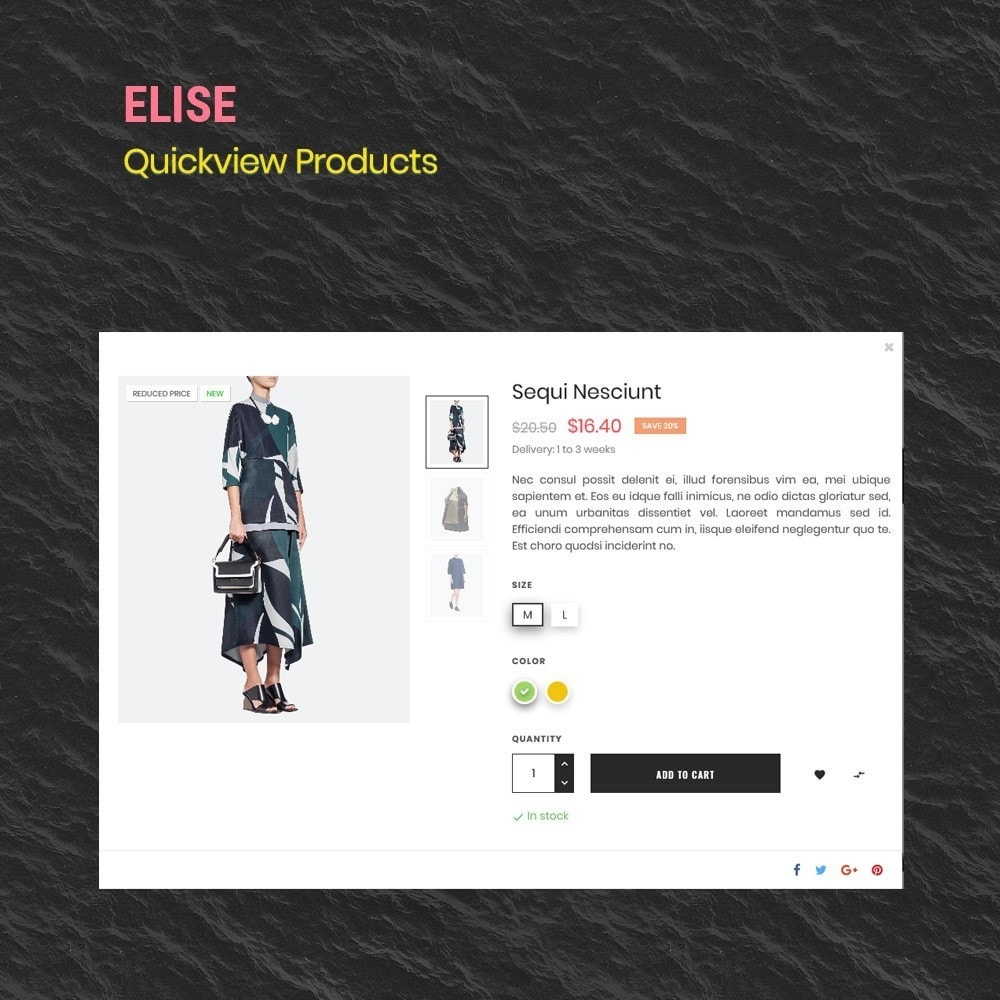 theme - Moda & Obuwie - Elise Fashion & clothing shose trend 2019 - 5
