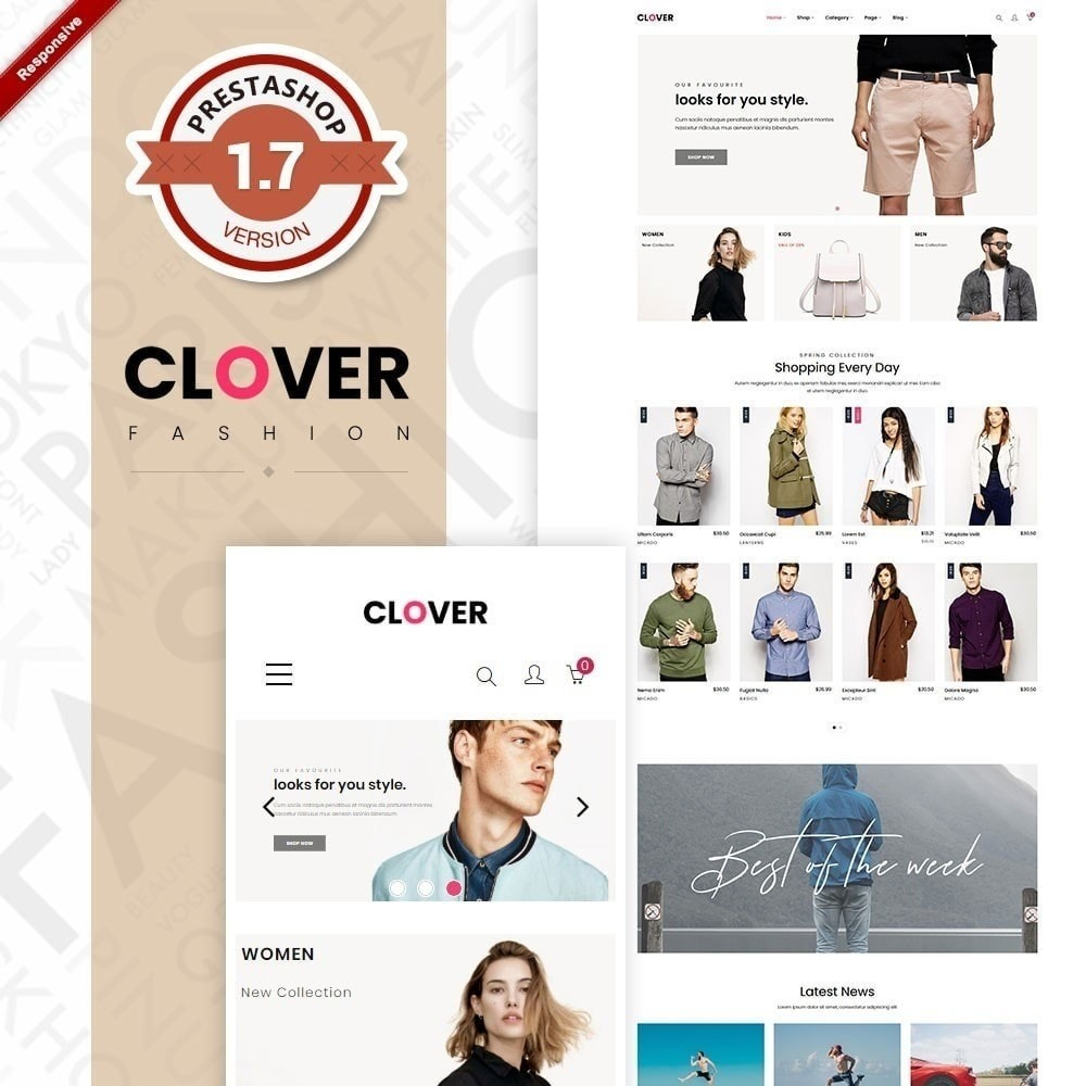 theme - Fashion & Shoes - Clothes Fashion Store | Clothing | Bags | Shoes - 1