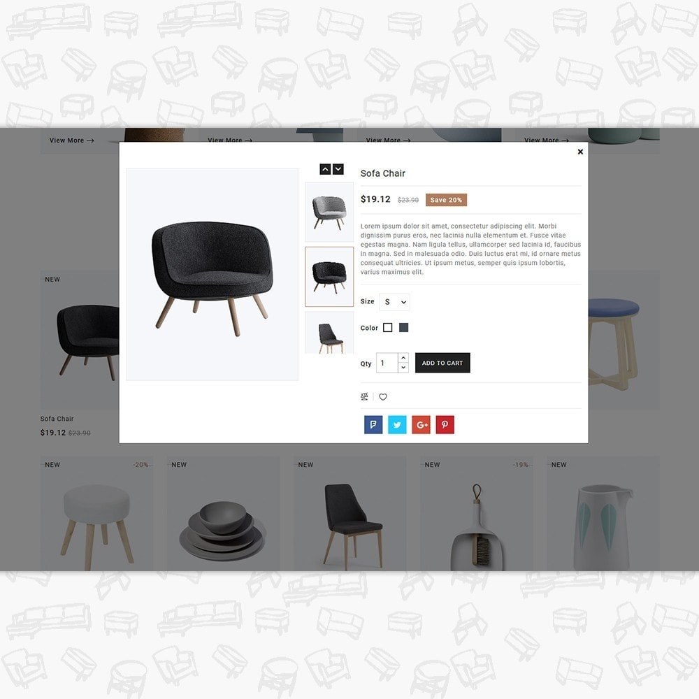 theme - Home & Garden - Hallon -  The  Furniture Store - 7