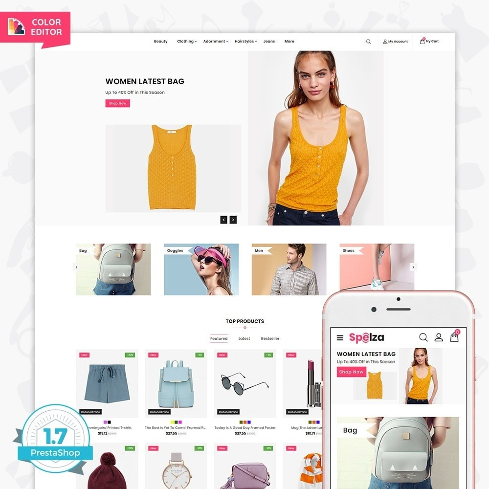 theme - Fashion & Shoes - Spleza - The MultiStore - 1