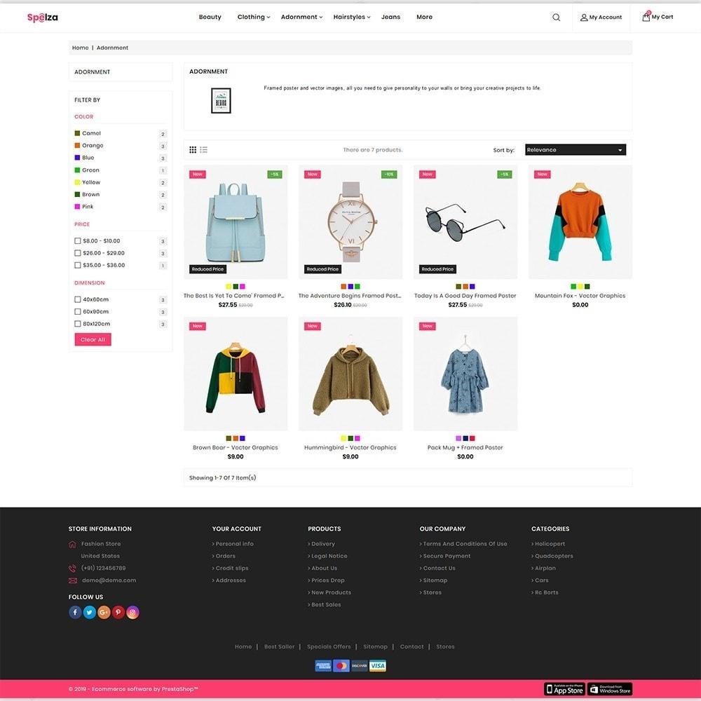 theme - Fashion & Shoes - Spleza - The MultiStore - 3