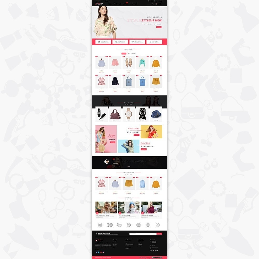 theme - Fashion & Shoes - Shopivate -  The Fashion Shop - 2