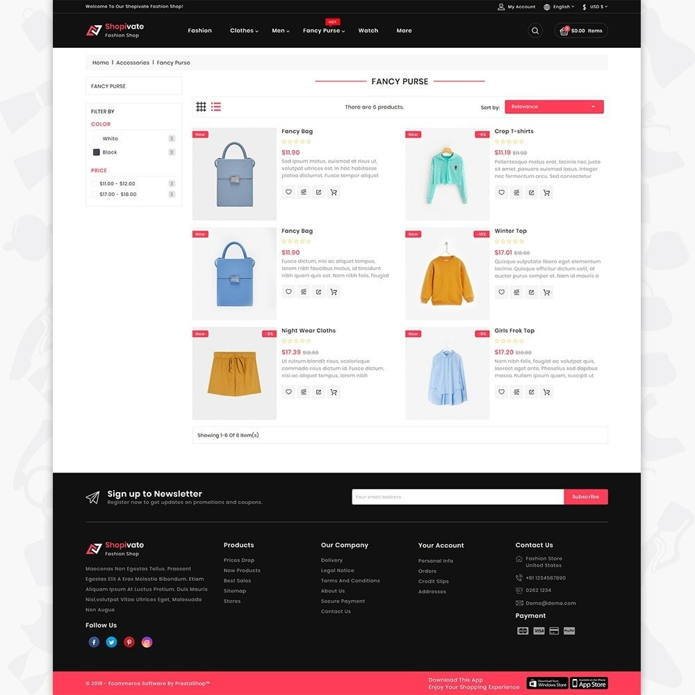 theme - Fashion & Shoes - Shopivate -  The Fashion Shop - 4