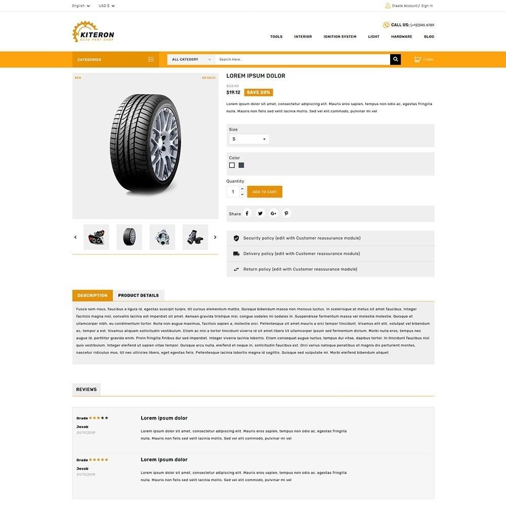 theme - Automotive & Cars - Kiteron Auto Parts - 5