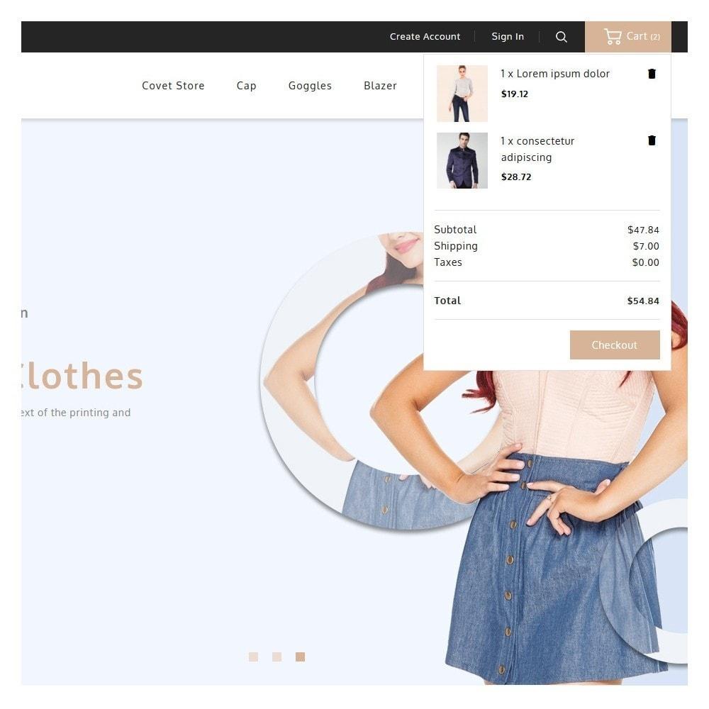 theme - Fashion & Shoes - Covet Fashion Shop - 7