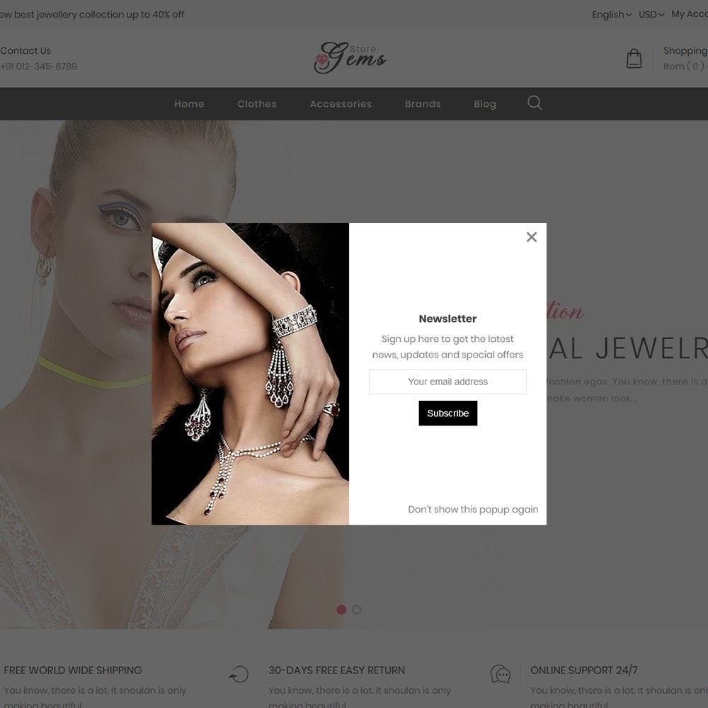 theme - Jewelry & Accessories - Gems Jewellery Store - 8