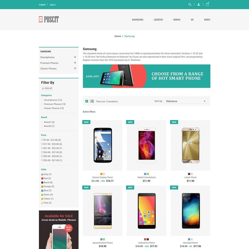 theme - Electronics & Computers - Digital Mobile - Camera Gadget Store - 3