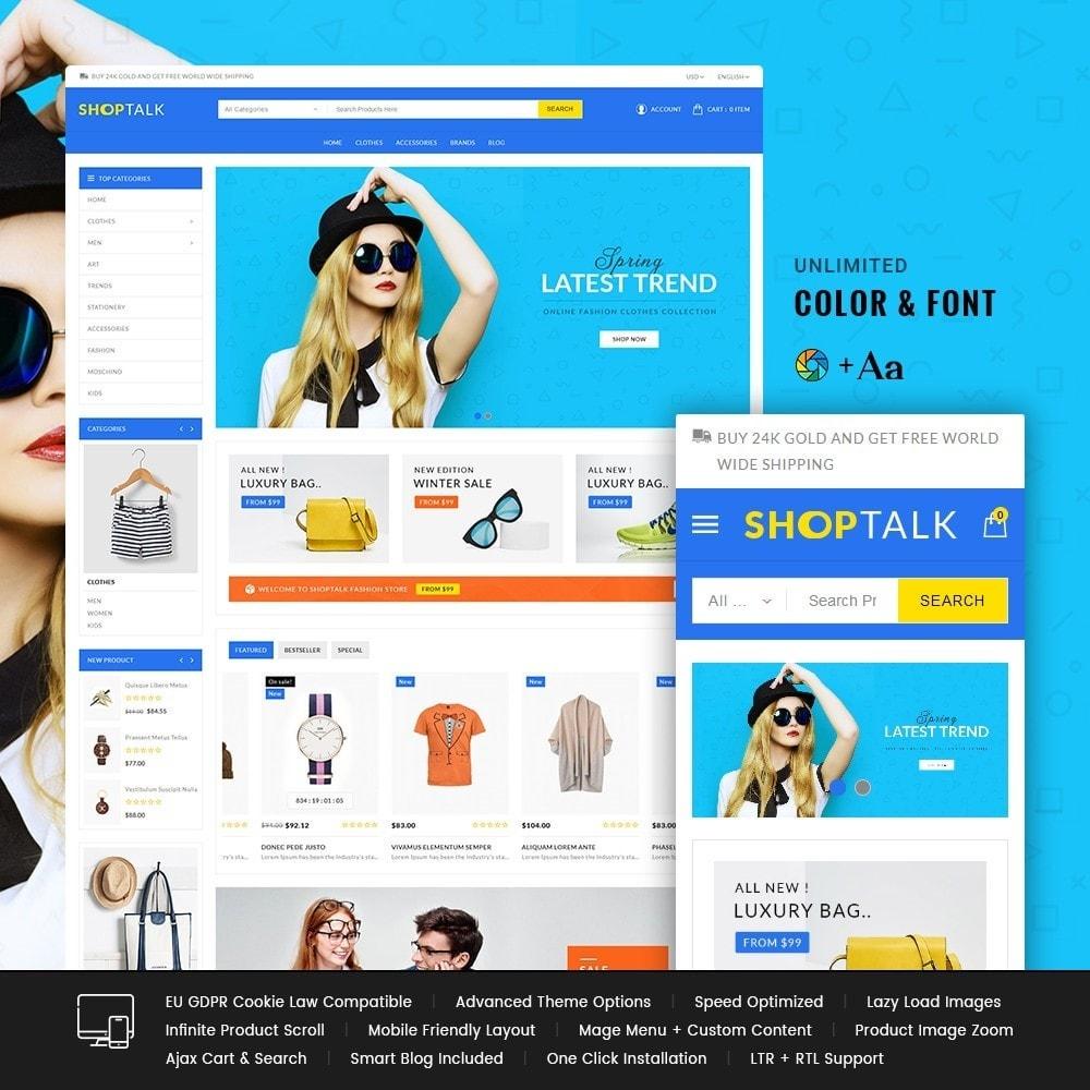 theme - Fashion & Shoes - Shoptalk Fashion Store - 1