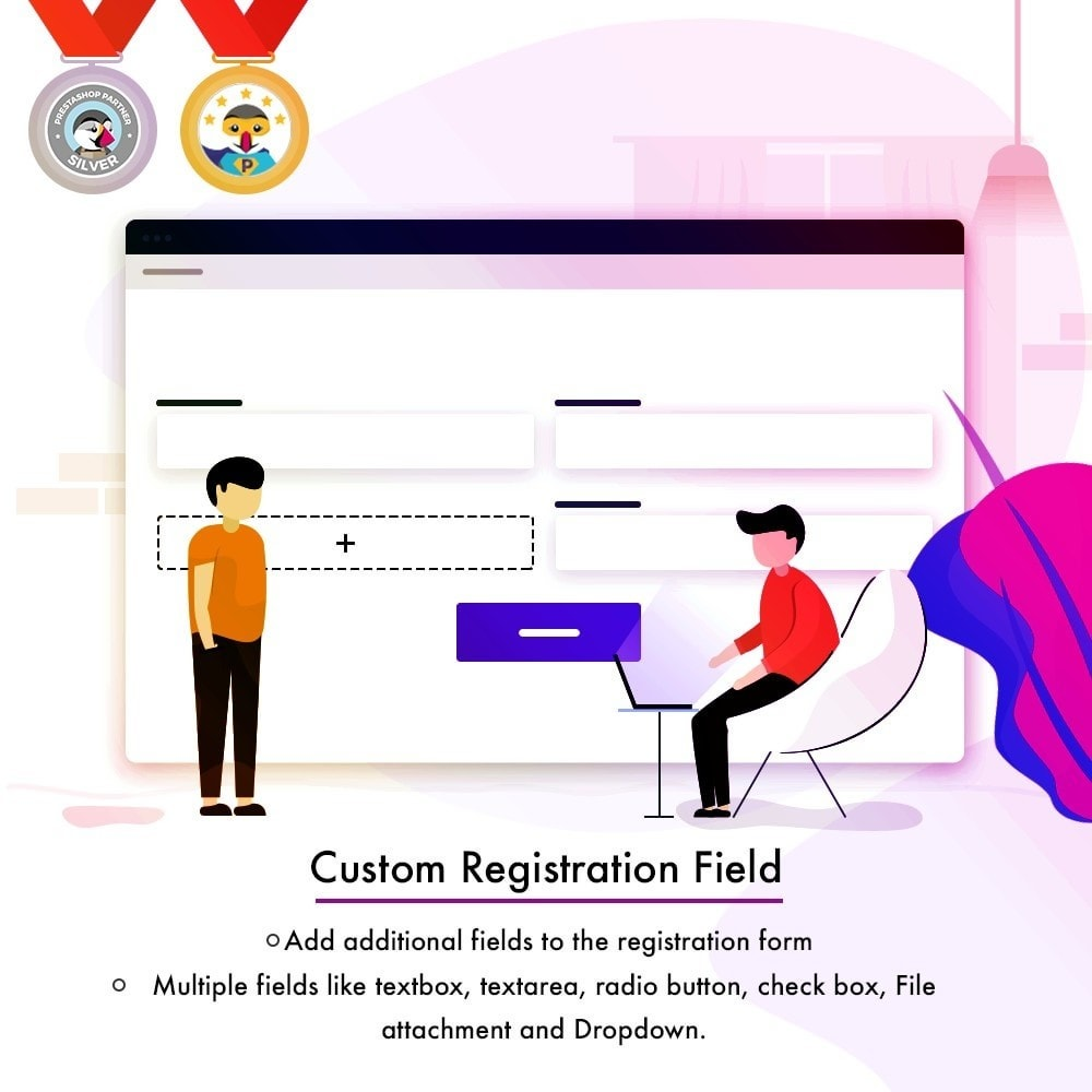 module - Registration & Ordering Process - Custom Registration Field - 1
