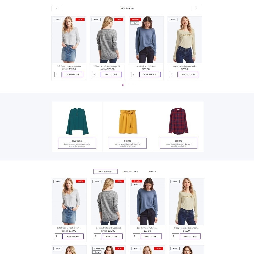 theme - Fashion & Shoes - she Color Fashion Store - 3