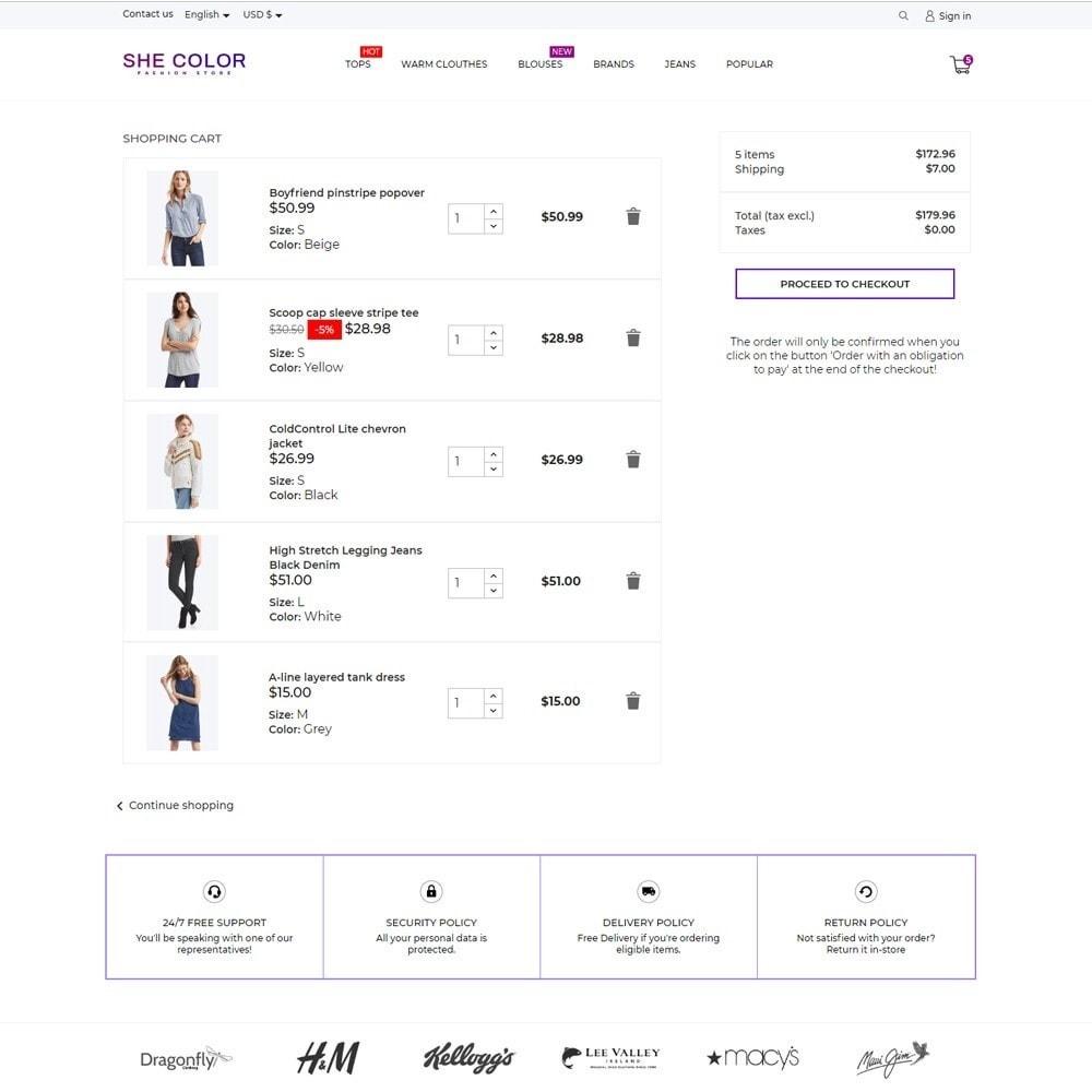 theme - Fashion & Shoes - she Color Fashion Store - 7