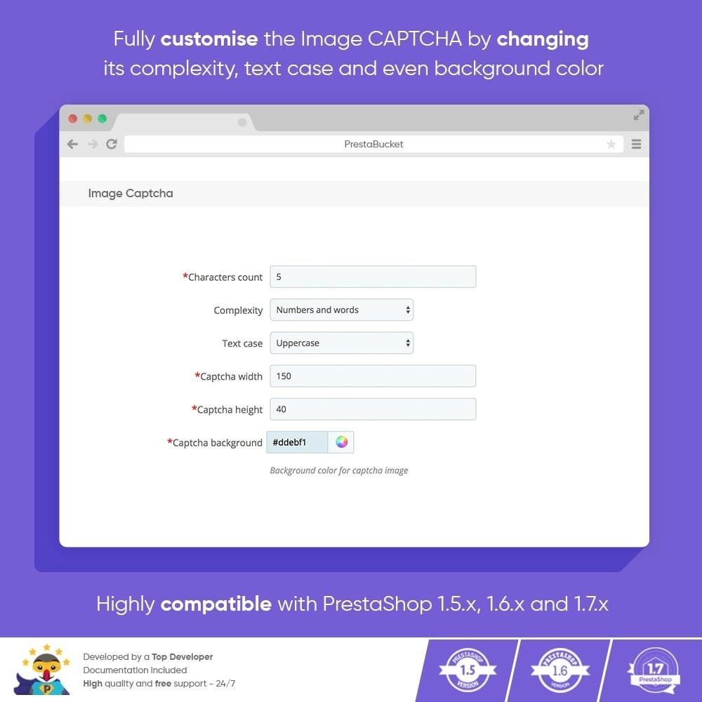 module - Security & Access - Ultimate Math CAPTCHA / Enhanced Anti Spam Security - 5